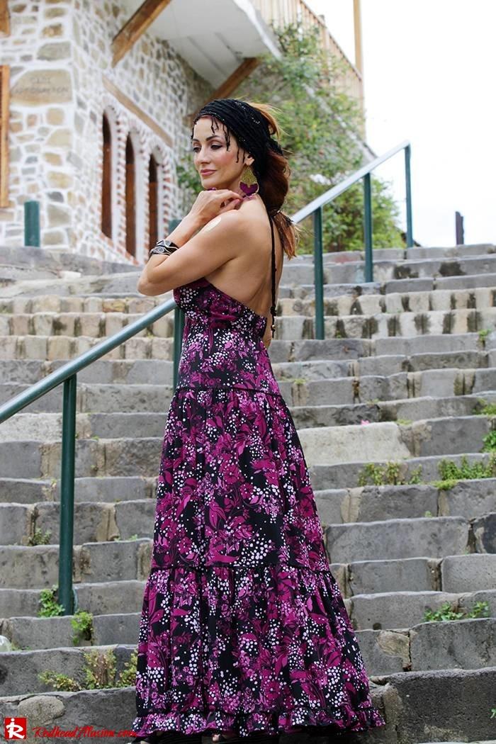 Redhead Illusion - Fashion Blog by Menia - Maxi overload - Victoria's Secret Dress-08