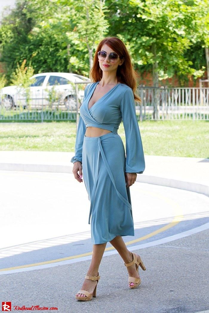 Redhead Illusion - Fashion Blog by Menia - Contrasts - Asos Dress - Gucci Sunglasses-09