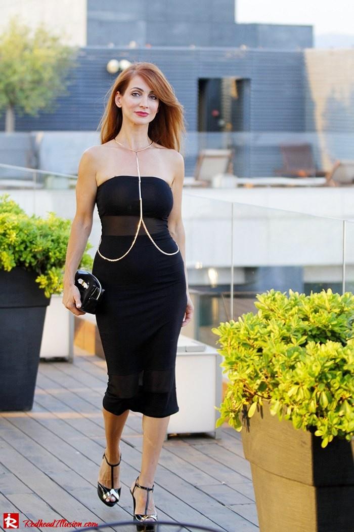 Little black dress with a twist!