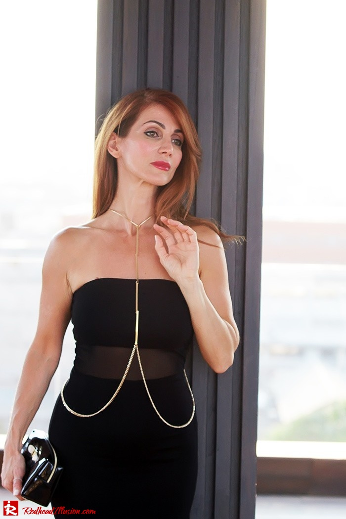 Redhead Illusion - Fashion Blog by Menia - Little Black Dress Asos - Ted Baker Clutch-03