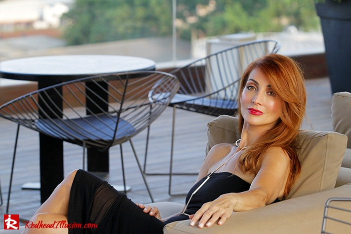 Redhead Illusion - Fashion Blog by Menia - Little Black Dress Asos - Ted Baker Clutch-05