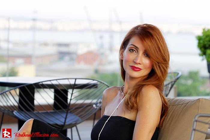 Redhead Illusion - Fashion Blog by Menia - Little Black Dress Asos - Ted Baker Clutch-06