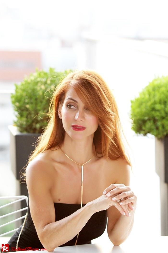 Redhead Illusion - Fashion Blog by Menia - Little Black Dress Asos - Ted Baker Clutch-09