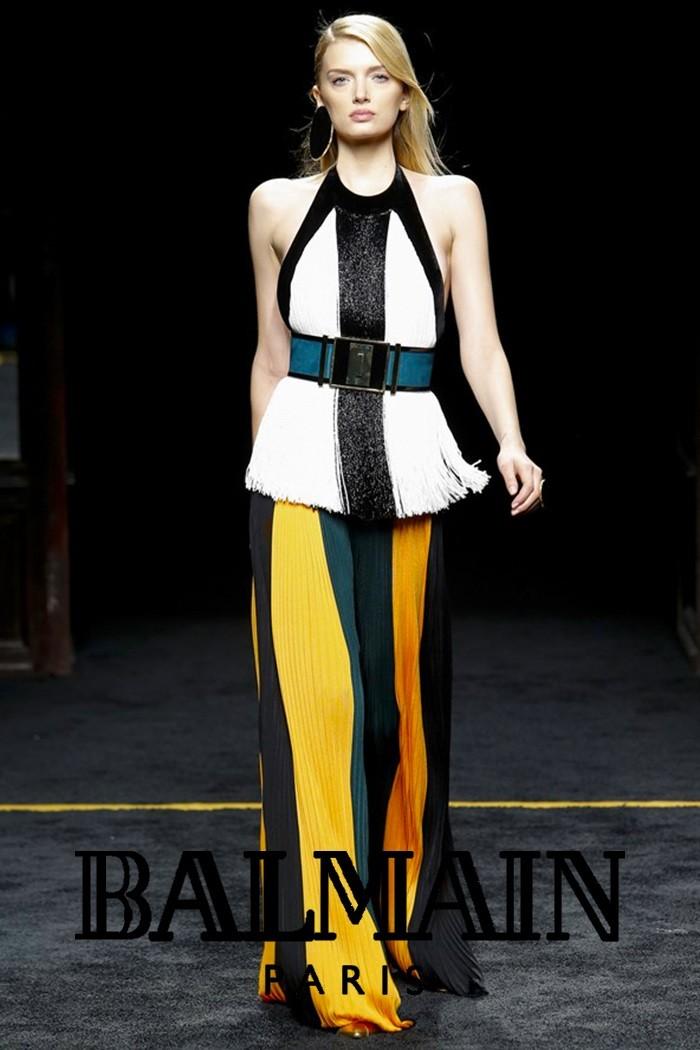 Redhead Illusion - Fashion Blog - Fashion Show Balmain - Autumn-Winter-2015-03