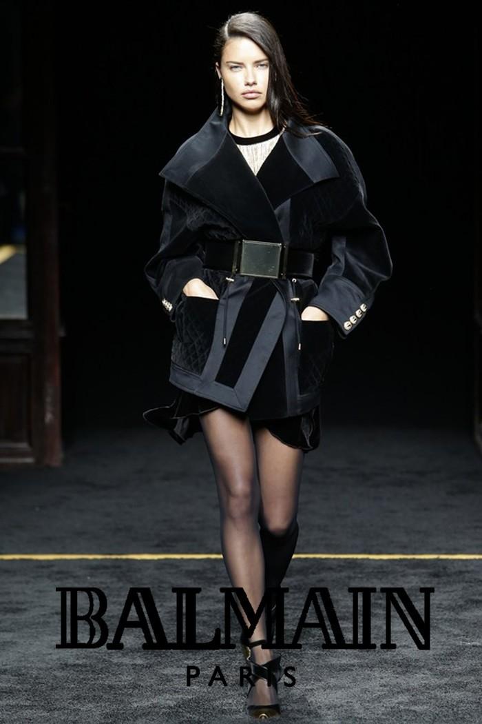 Redhead Illusion - Fashion Blog - Fashion Show Balmain - Autumn-Winter-2015-04