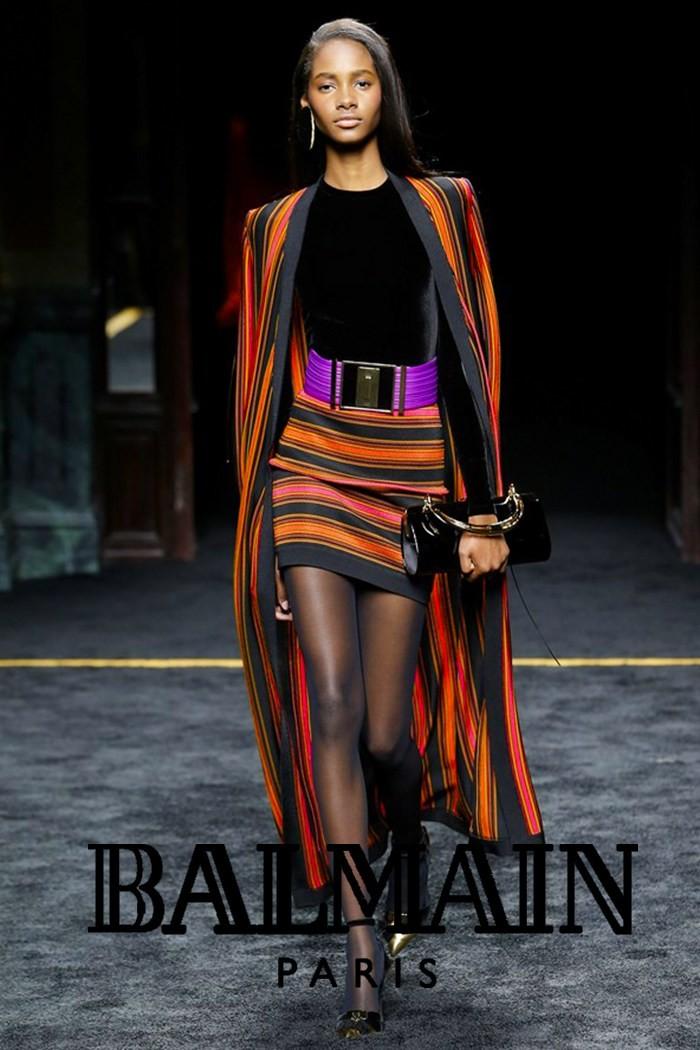 Redhead Illusion - Fashion Blog - Fashion Show Balmain - Autumn-Winter-2015-07
