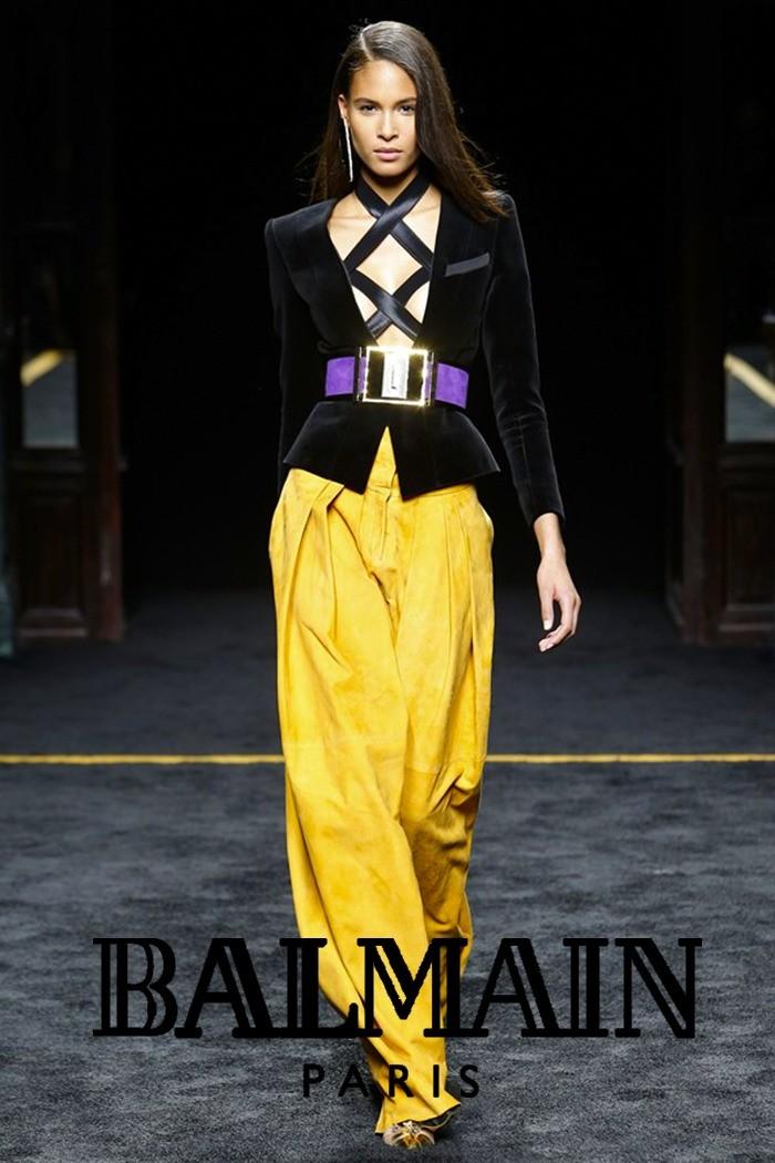 Redhead Illusion - Fashion Blog - Fashion Show Balmain - Autumn-Winter-2015-08
