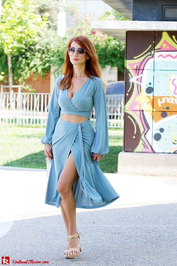 Redhead Illusion - Fashion Blog by Menia - Lately - Sep 15 - Asos Dress - Michael Kors Dress-05