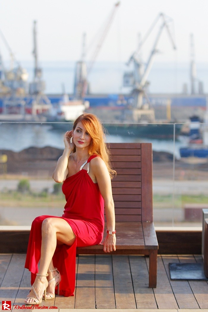 Redhead Illusion - Fashion Blog by Menia - Lately - Sep 15 - Asos Dress - Michael Kors Dress-06