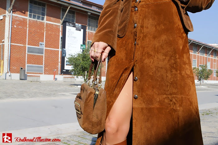 Redhead Illusion - Fashion Blog by Menia - Cafe au lait - Zara- Skirt - Karen Millen Blouse-10