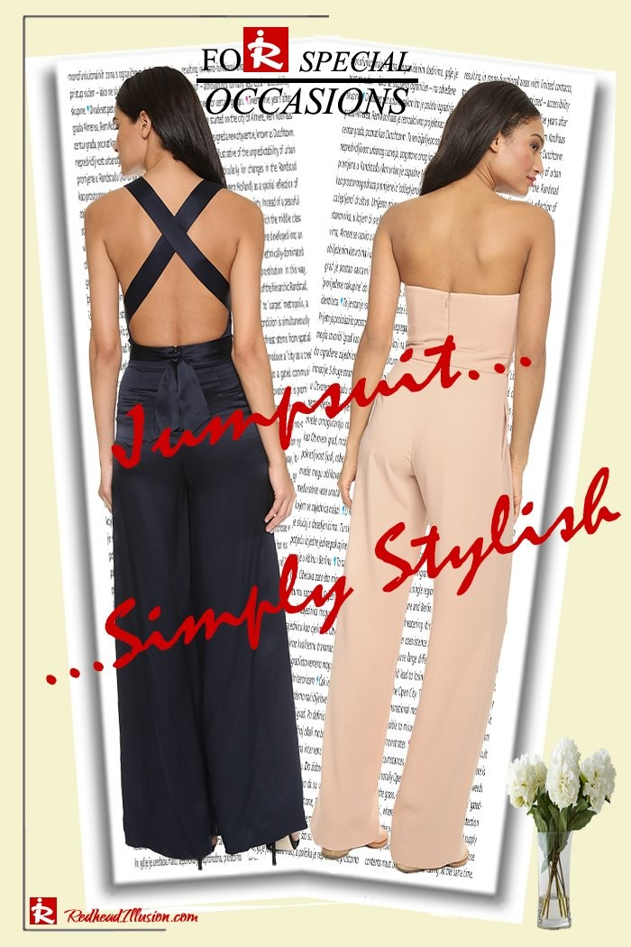 Jumpsuit – An alternative suggestion for an event or a night out!