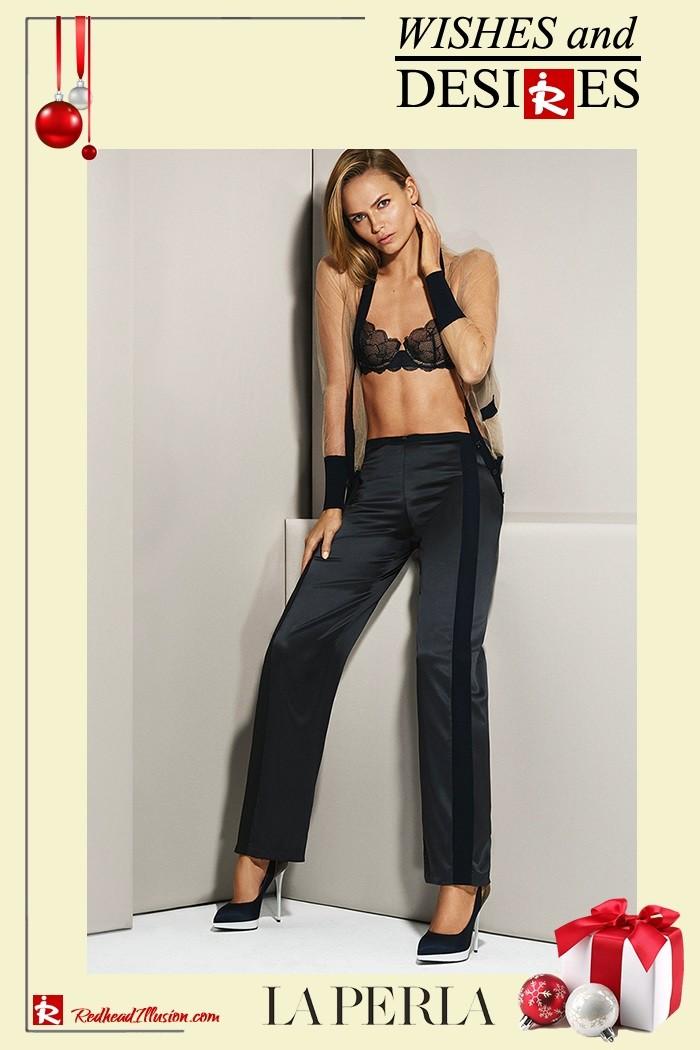 Redhead Illusion - Fashion Blog by Menia - Hidden Desires - La Perla Lingerie-12