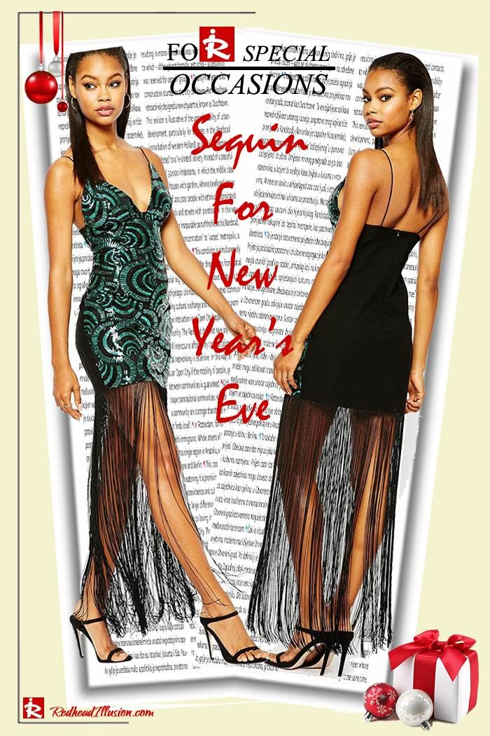 Redhead Illusion - Fashion Blog by Menia - Sequin for New Year's Eve-04