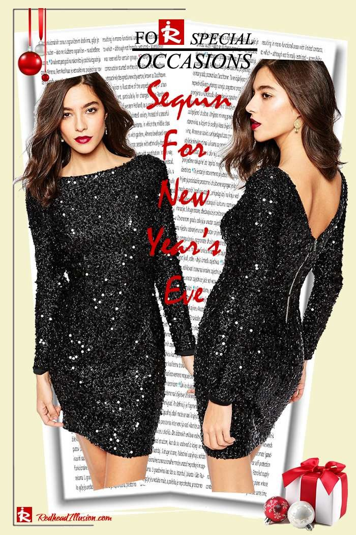 Redhead Illusion - Fashion Blog by Menia - Sequin for New Year's Eve-10