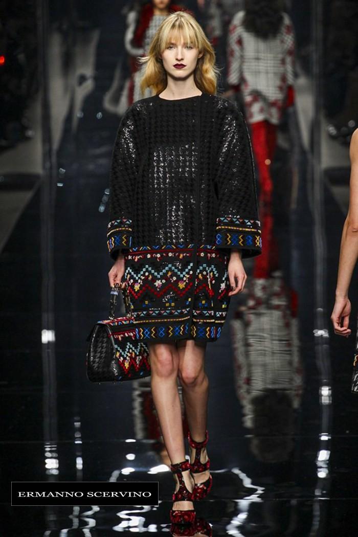 Redhead Illusion - Fashion Blog by Menia - Fashion Show - Ermanno Scervino - Fall-winter 2015-03