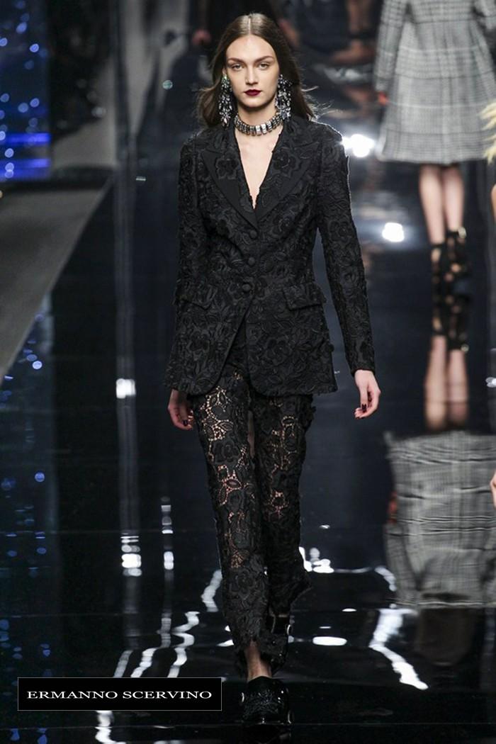 Redhead Illusion - Fashion Blog by Menia - Fashion Show - Ermanno Scervino - Fall-winter 2015-05