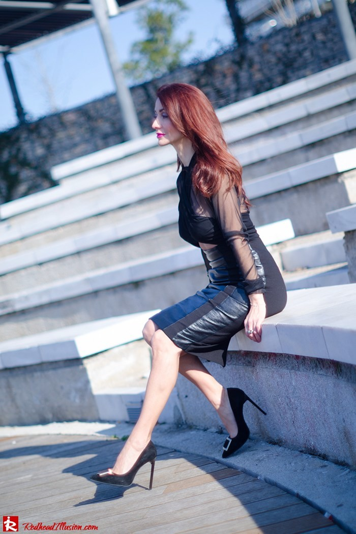 Redhead Illusion - Fashion Blog by Menia - A cropped... day - Yoins Top - Zini Skirt - Boss Coat-05