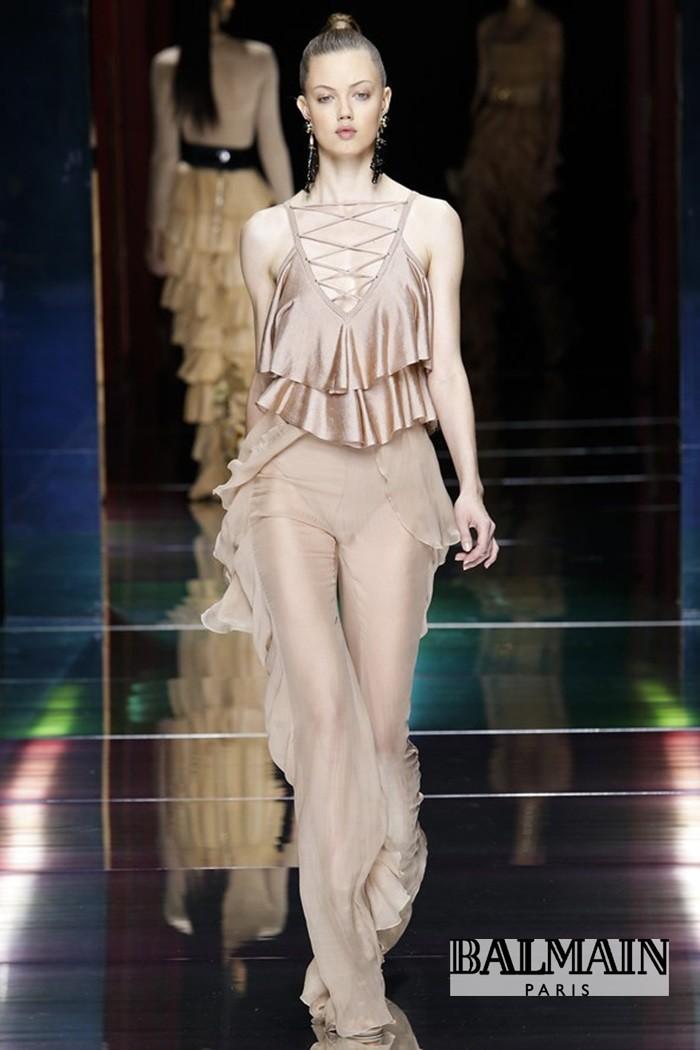 Redhead Illusion - Fashion Blog - Fashion Show Balmain - Spring-Summer-2016-07