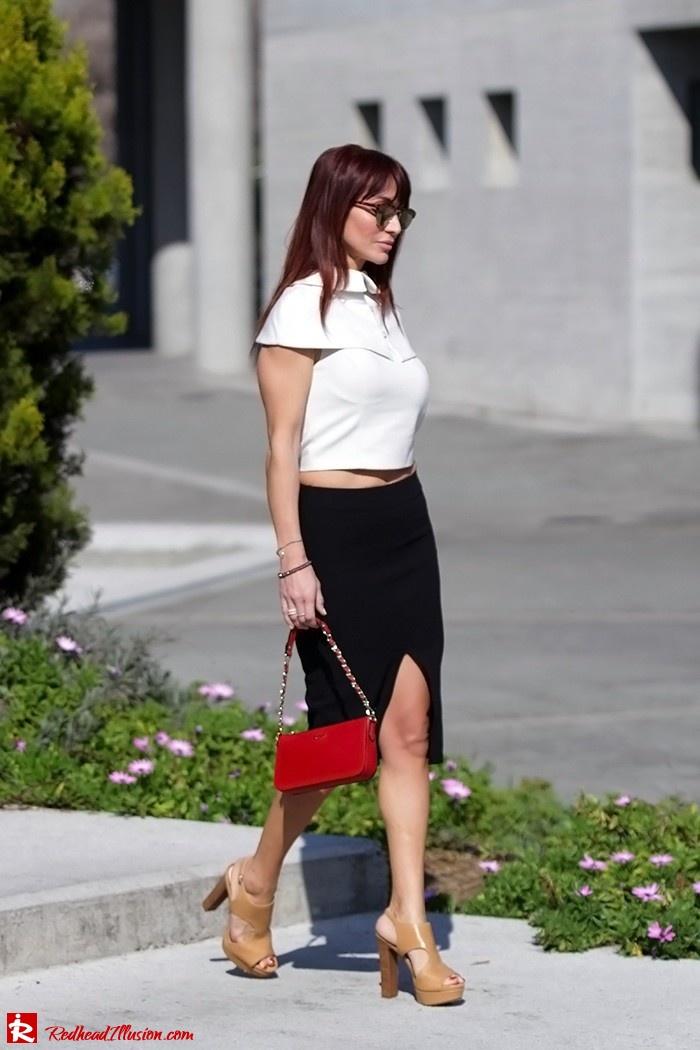 Redhead Illusion - Fashion Blog by Menia - Preppy but sexy too - Zara Pencil Skirt-03