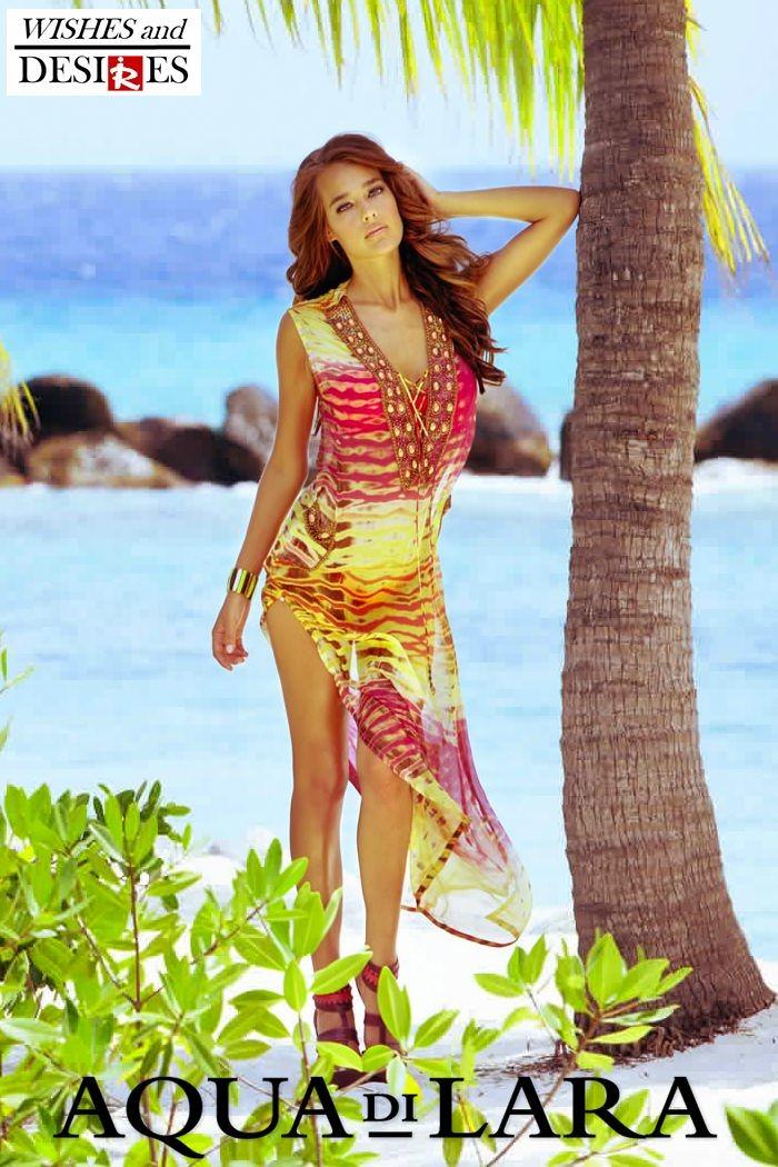 Redhead Illusion - Fashion Blog by Menia - Wishes and Desires - Swimwear - Aqua di Lara - SS-16-02