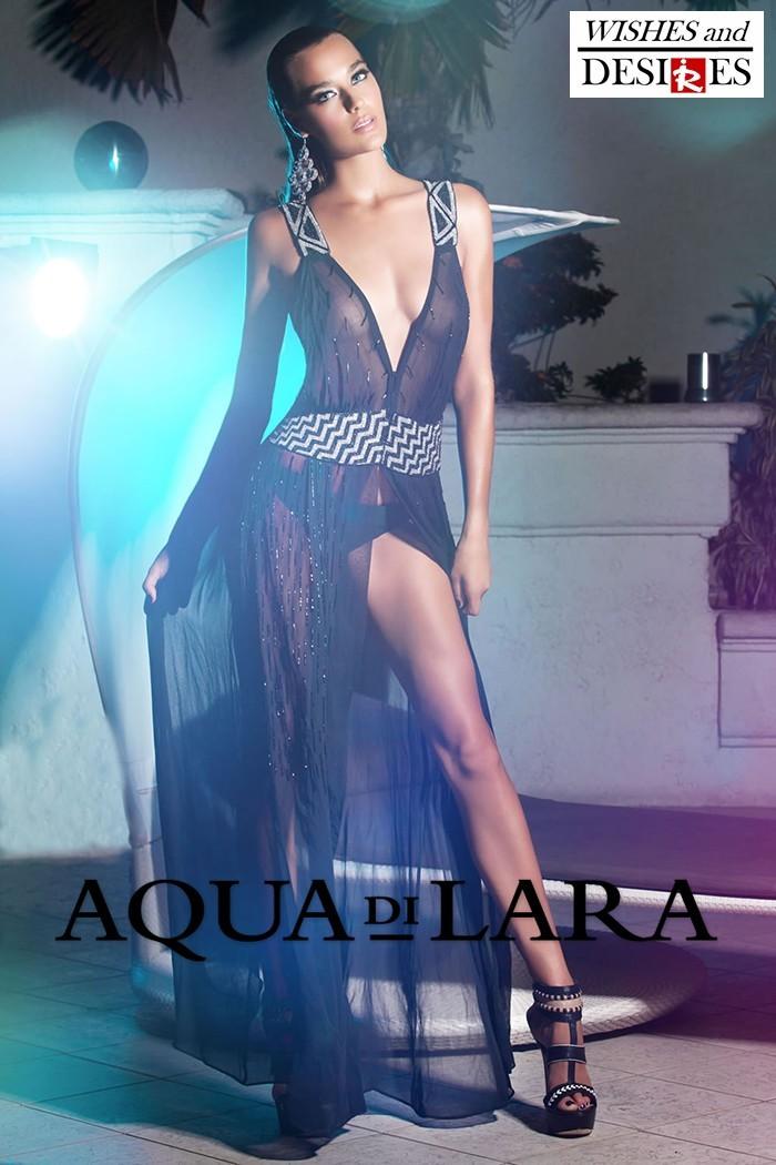 Redhead Illusion - Fashion Blog by Menia - Wishes and Desires - Swimwear - Aqua di Lara - SS-16-14