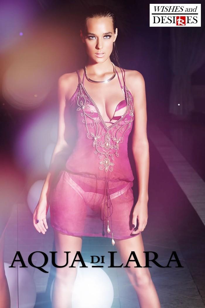 Redhead Illusion - Fashion Blog by Menia - Wishes and Desires - Swimwear - Aqua di Lara - SS-16-16