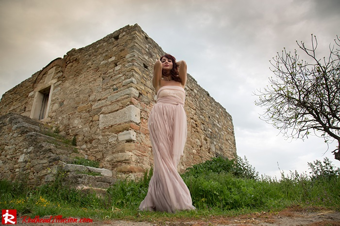 Redhead Illusion - Fashion Blog by Menia - Your own fairytale - Ethereal Skirt - Lace Top - Elegant Outfit-07