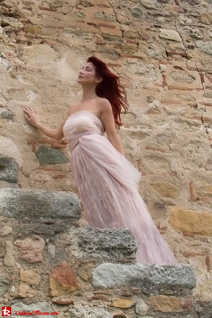 Redhead Illusion - Fashion Blog by Menia - Your own fairytale - Ethereal Skirt - Lace Top - Elegant Outfit-09