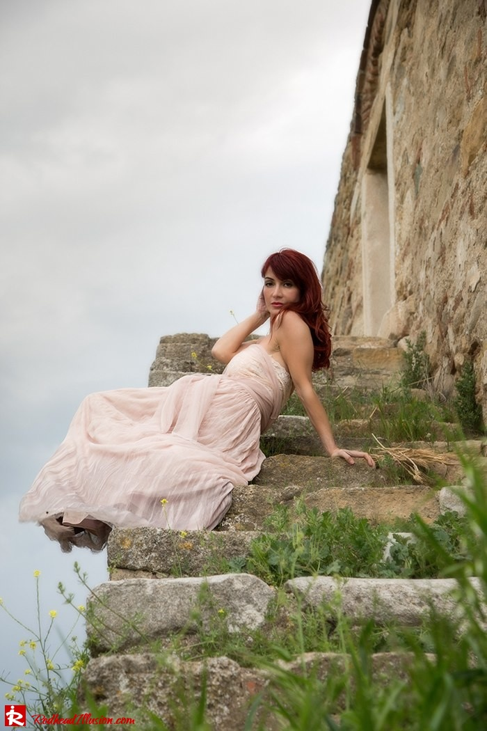 Redhead Illusion - Fashion Blog by Menia - Your own fairytale - Ethereal Skirt - Lace Top - Elegant Outfit-12