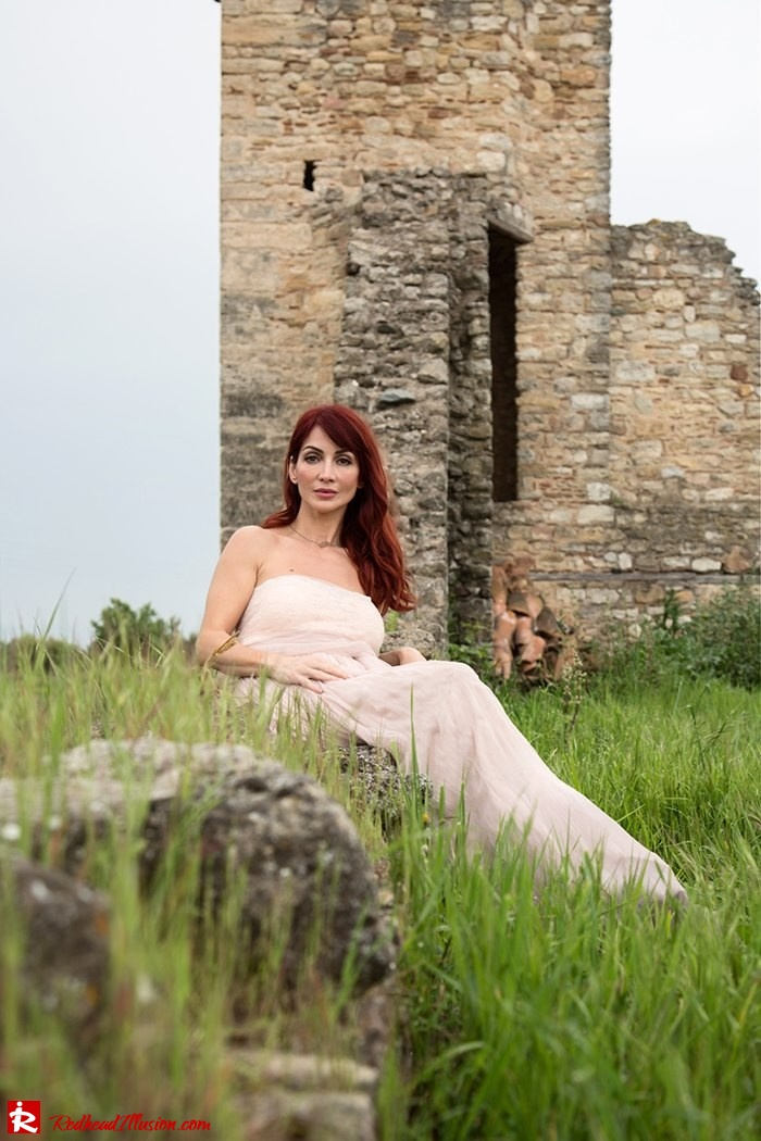 Redhead Illusion - Fashion Blog by Menia - Your own fairytale - Ethereal Skirt - Lace Top - Elegant Outfit-13