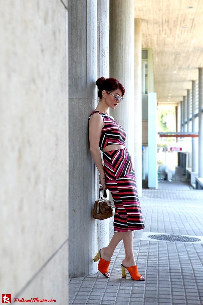 Redhead Illusion - Fashion Blog by Menia - Candy Crash - Spell Dress - Zara Mules-03