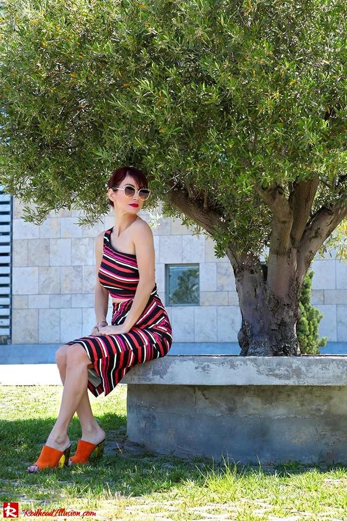 Redhead Illusion - Fashion Blog by Menia - Candy Crash - Spell Dress - Zara Mules-04