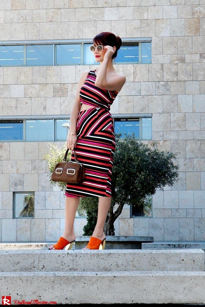 Redhead Illusion - Fashion Blog by Menia - Candy Crash - Spell Dress - Zara Mules-08
