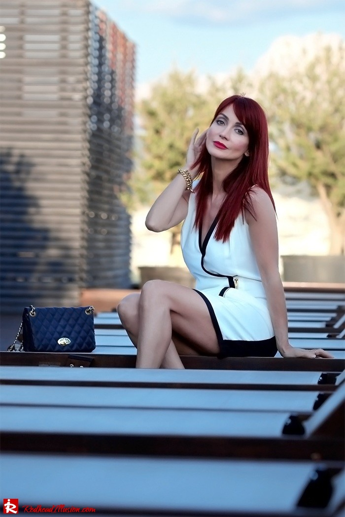 Redhead Illusion - Fashion Blog by Menia -Beside a Pool - Missguided Dress - Jessica Simpson Heels-02