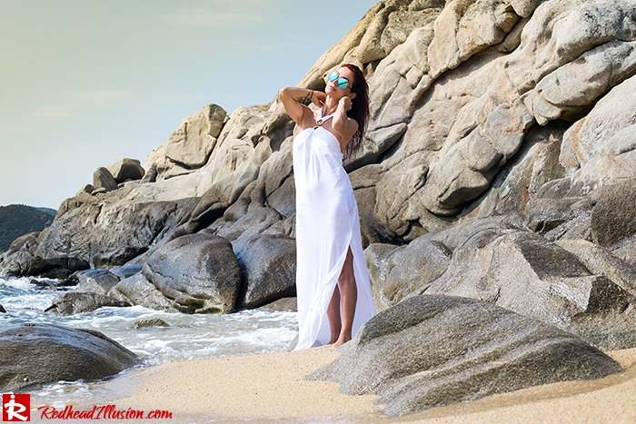 Redhead Illusion - Fashion Blog by Menia - Lately - 03 - Pure Energy - Asos Dress