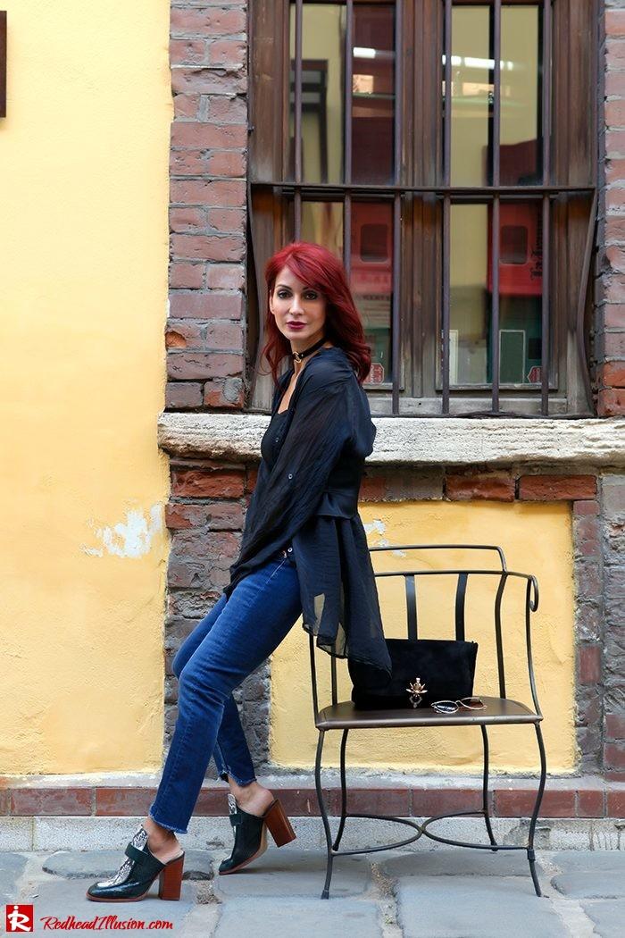 Redhead Illusion - Fashion Blog by Menia - Mind Travel Far Away - Zara Pants-05