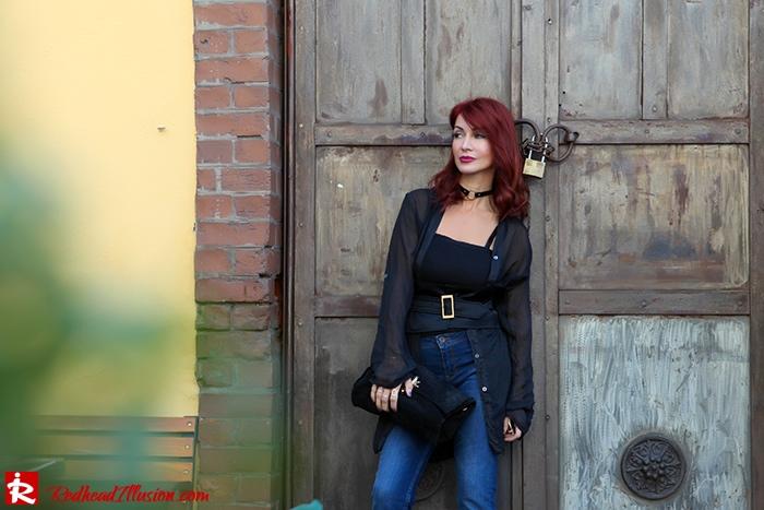 Redhead Illusion - Fashion Blog by Menia - Mind Travel Far Away - Zara Pants-06