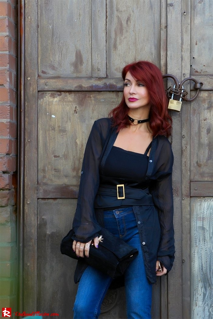 Redhead Illusion - Fashion Blog by Menia - Mind Travel Far Away - Zara Pants-07