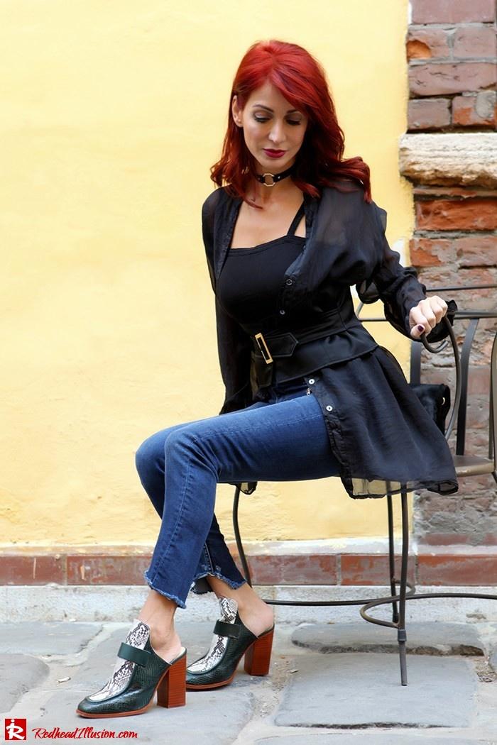 Redhead Illusion - Fashion Blog by Menia - Mind Travel Far Away - Zara Pants-09