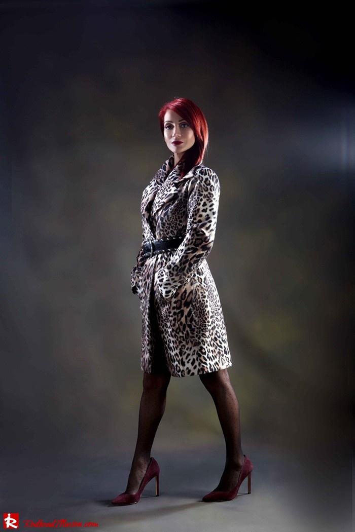 Redhead Illusion - Fashion Blog by Menia - Forever wild - Denny Rose Coat - Karen Millen Belt-05
