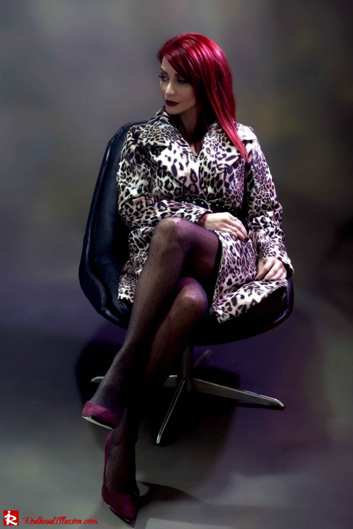 Redhead Illusion - Fashion Blog by Menia - Forever wild - Denny Rose Coat - Karen Millen Belt-06
