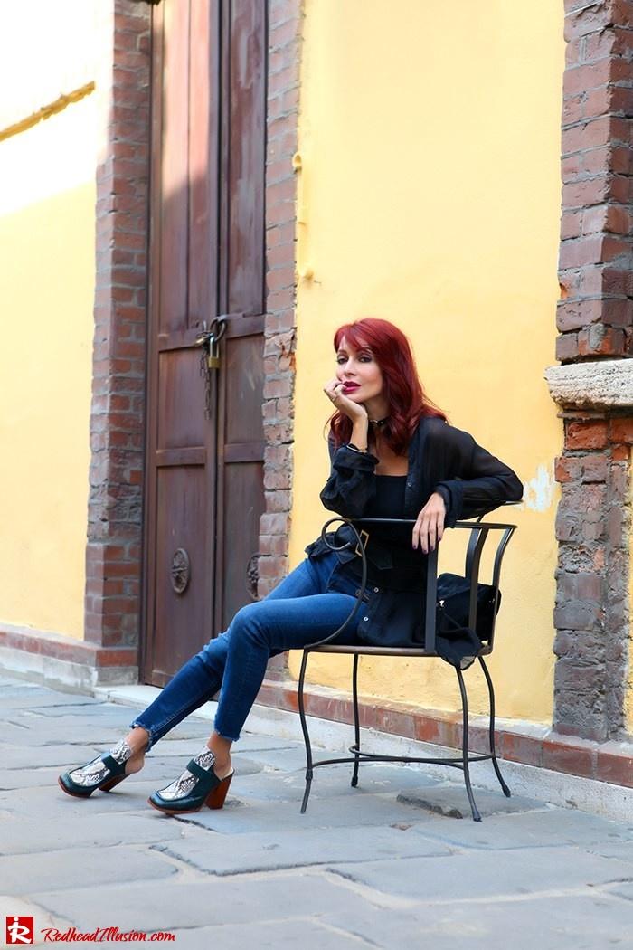 Redhead Illusion - Fashion Blog by Menia - Lately - October - 03 - Mind travel far away - Zara Pants