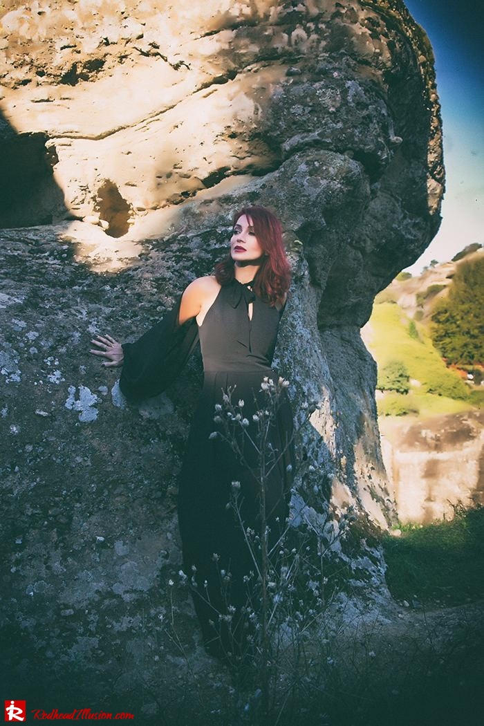 Redhead Illusion - Fashion Blog by Menia - Lately - October - 04 - Suspended in space - Toi-Moi Maxi Dress