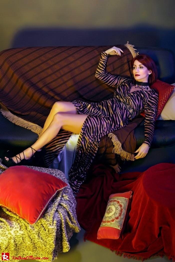 Redhead Illusion - Fashion Blog by Menia - Fab-wrap - Toi&Moi Dress-03