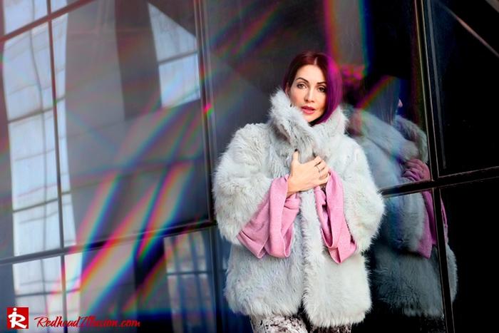 Redhead Illusion - Fashion Blog by Menia - Fade to grey - Zara Velvet Pants - Denny Rose Blouse-03