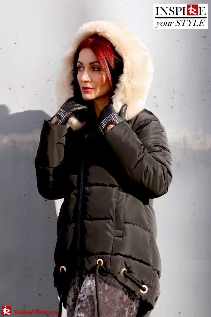 Redhead Illusion - Fashion Blog by Menia - Inspirations - Puffer Jacket-02