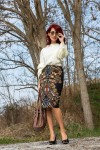 Redhead Illusion - Fashion Blog by Menia - Expressing - Shein Blouse - Jimmy Choo Bag-01