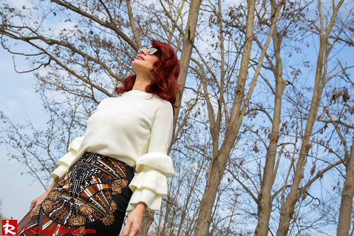 Redhead Illusion - Fashion Blog by Menia - Expressing - Shein Blouse - Jimmy Choo Bag-03