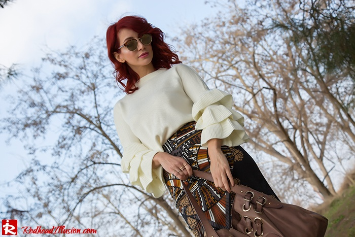 Redhead Illusion - Fashion Blog by Menia - Expressing - Shein Blouse - Jimmy Choo Bag-06