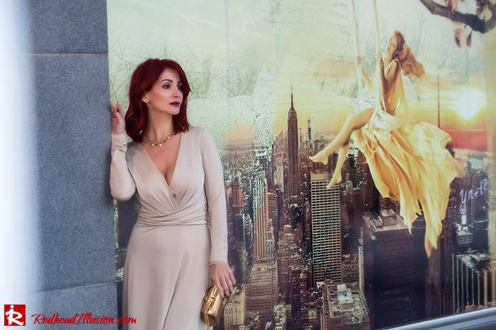 Redhead Illusion - Fashion Blog by Menia - Mind Trap - Lulus Maxi - Dress - Suzy Smith Clutch-05